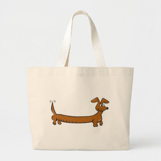 Doxie Dachshund Large Tote Bag