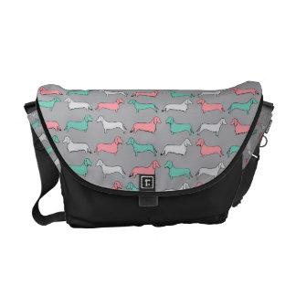 Doxie Dash - Pink Messenger Bag