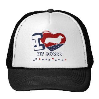 Doxie [de pelo largo] gorras de camionero