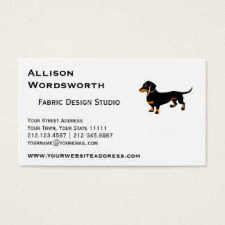 Doxie Dog Love - Cute Little Dachshund Business Card