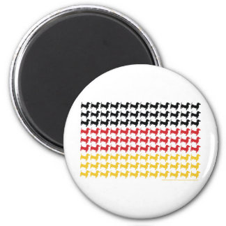 DOXIE-GERMAN-FLAG REFRIGERATOR MAGNETS