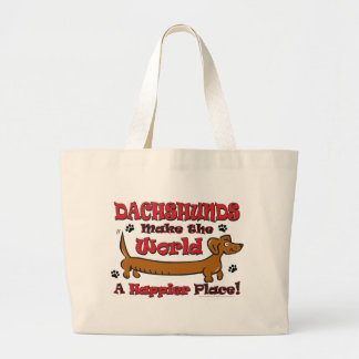 DOXIE-HAPPY LARGE TOTE BAG