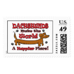DOXIE-HAPPY POSTAGE STAMP