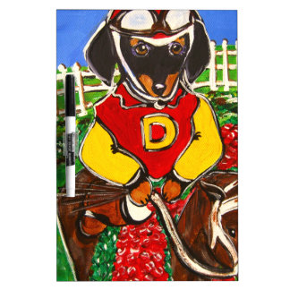 DOXIE JOCKEY DRY ERASE BOARD