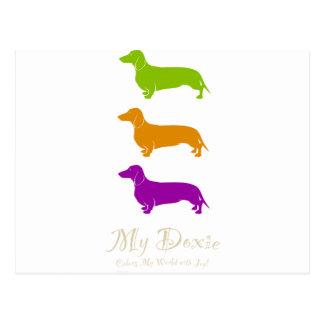 Doxie Joy  |  Dachshund Postcard