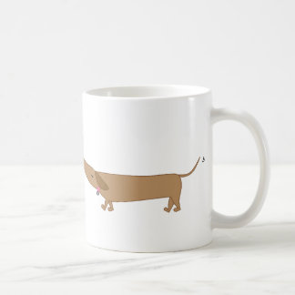 doxie love classic white coffee mug