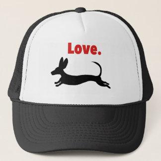 Doxie Love Trucker Hat