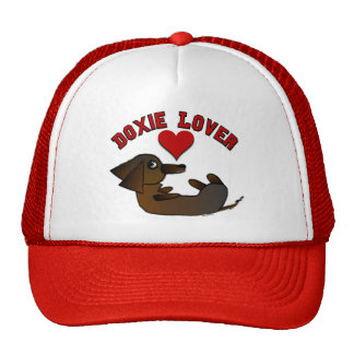 Doxie Lover Hats and Caps Trucker Hat