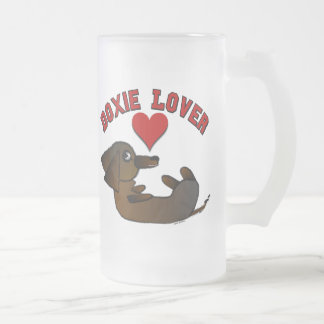 Doxie Lover Large Frosted Coffee Mug