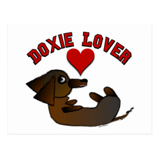 Doxie Lover Post Cards