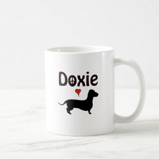 doxie luv coffee mug