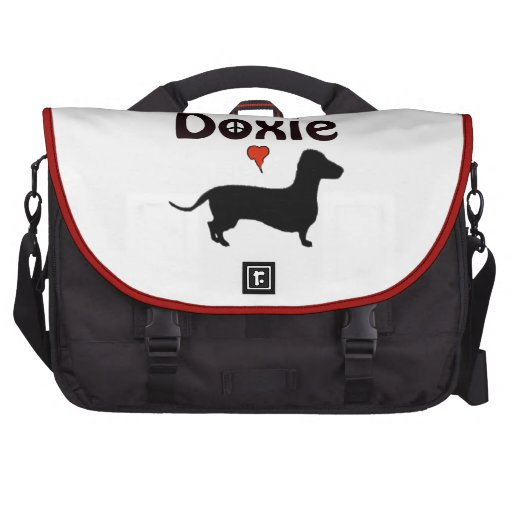 doxie luv laptop computer bag