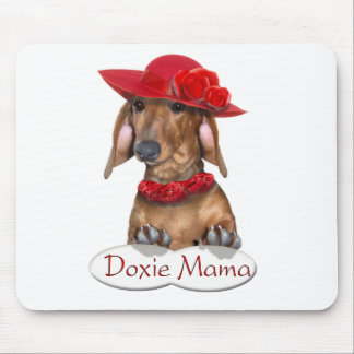 Doxie Mama Mouse Pad