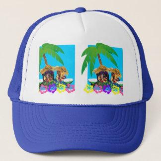 DOXIE PARTY BLUE SKY TRUCKER HAT