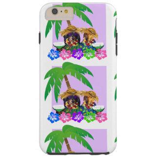 DOXIE PARTY PURPLE SKY TOUGH iPhone 6 PLUS CASE