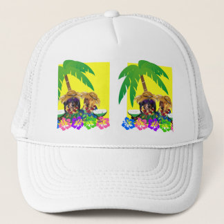 DOXIE PARTY YELLOW SKY TRUCKER HAT