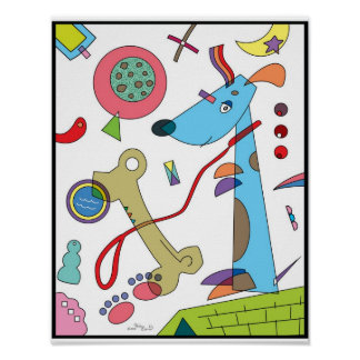 Doxie Picassie Posters