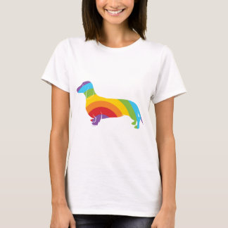 Doxie Rainbow Connection T-Shirt