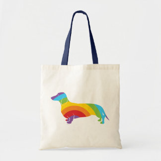 Doxie Rainbow Connection Tote Bag