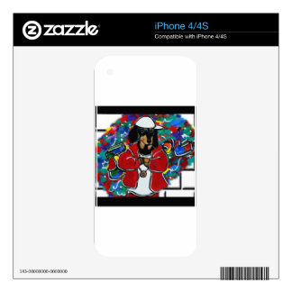 DOXIE RAPPER DECAL FOR iPhone 4S