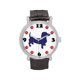 Doxie - reloj del Dachshund