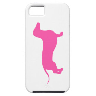 Doxie rosado iPhone 5 carcasas