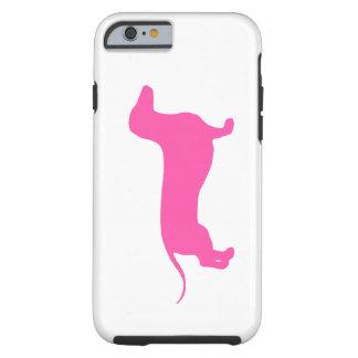 Doxie rosado funda de iPhone 6 tough