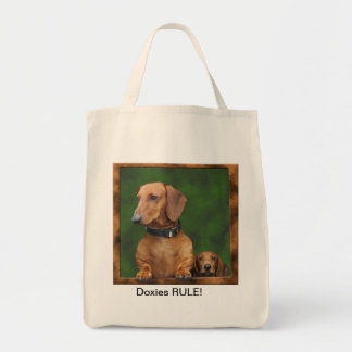 Doxie Shopping Bag