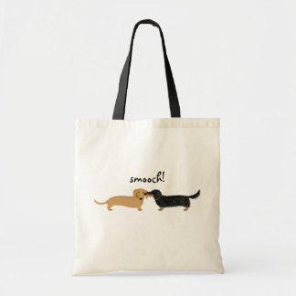 Doxie Smooch Tote Bags