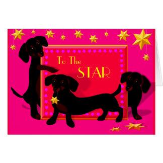 Doxie star card