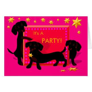 Doxie Stars Invitation