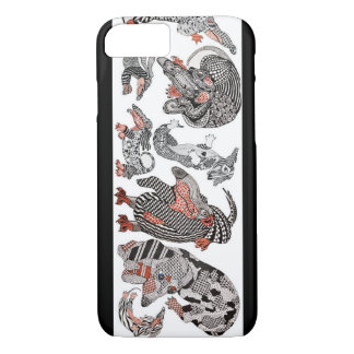 Doxie Tangle Art Cell Case