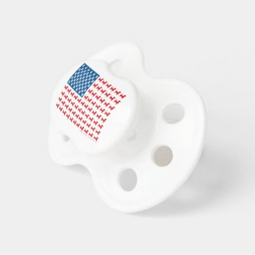 USA Themed Doxie-USA-FLAG-for-Darks Pacifier