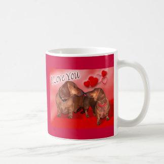 Doxie Valentine Mug