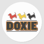 DOXIE-Word-COLOR Stickers