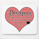 Doxiepoo Paw Prints Dog Humor Mousepads