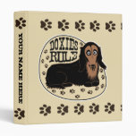Doxies Rule Binder (Customizable)