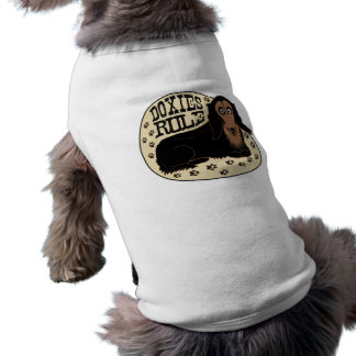 Doxies Rule Doggy Shirt
