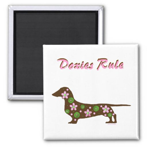 Doxies Rule Magnet