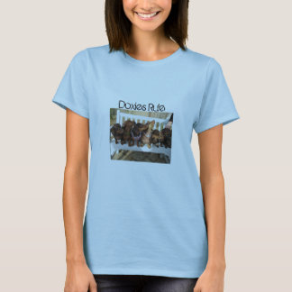 Doxies Rule - Womens T-Shirt