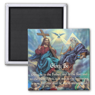 Doxology - Glory Be 2 Inch Square Magnet