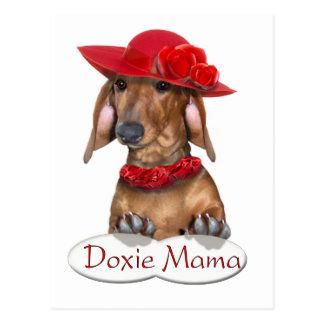 Doxy Mama Postcard