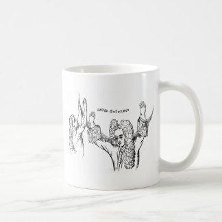 Doy para arriba taza de café