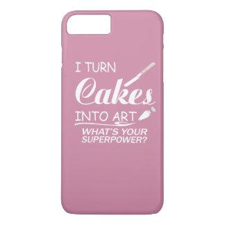 Doy vuelta a las tortas en arte funda iPhone 7 plus