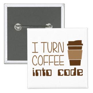 Doy vuelta al café en código programado pins