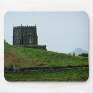 Doyden Castle Port Quin Cornwall Dwight Enys House Mouse Pad