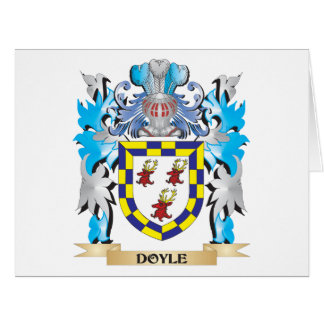 Doyle Coat of Arms - Family Crest Cards