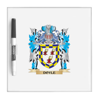 Doyle Coat of Arms - Family Crest Dry Erase Boards