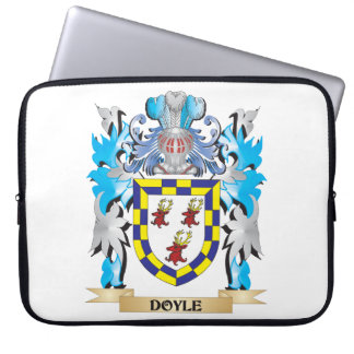Doyle Coat of Arms - Family Crest Computer Sleeve