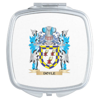 Doyle Coat of Arms - Family Crest Travel Mirrors